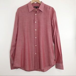 John Varvatos Dress Shirt Button Down Long Sleeve